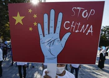 The United States has denounced China's treatment of Uighur and other minority Muslims in Xinjiang and imposed sanctions on officials it blames for abuses.