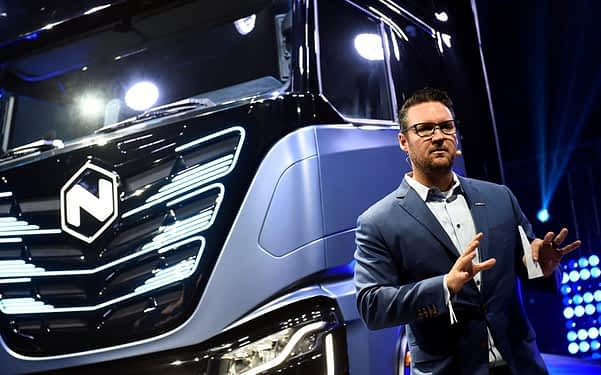 After founder Trevor Milton stepped down as executive chairman, shares of Nikola Corp fell 34%