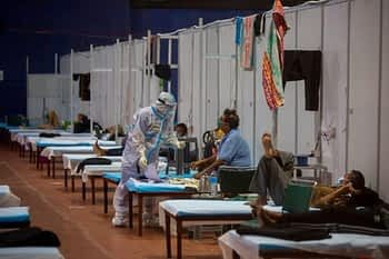 Coronavirus LIVE Updates: India Sees 61,871 New Covid-19 Cases & 1,033 Deaths in 24 Hrs; RLD's Jayant Chaudhary Tests Positive for Virus