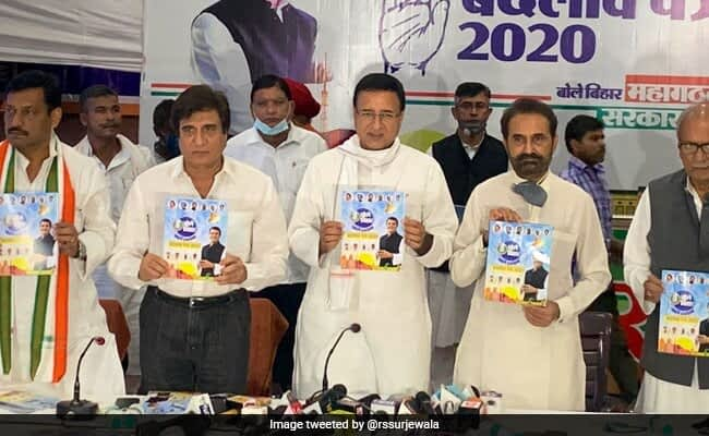 Congress' Bihar Manifesto Focuses On Farmers, Education And Employment