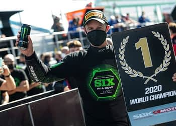 Jonathan Rea Crowned World Superbike Champion For The 6th Consecutive Year