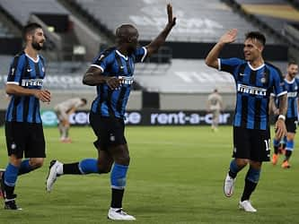 Romelu Lukaku, Lautaro Martinez Fire Five-Star Inter Milan Into Europa League Final