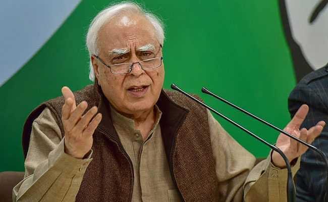 Kapil Sibal Takes Swipe At PM Modi Over Trump's 'Filthy Air' Remark