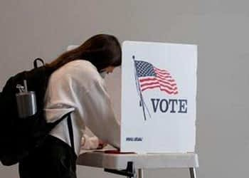 The report added that younger voters (aged 18-29) are also casting significantly more ballots and make up a greater share of the pre-Election Day vote than they did around the same time four years ago in all of the key states with information available (FILE PHOTO: REUTERS)