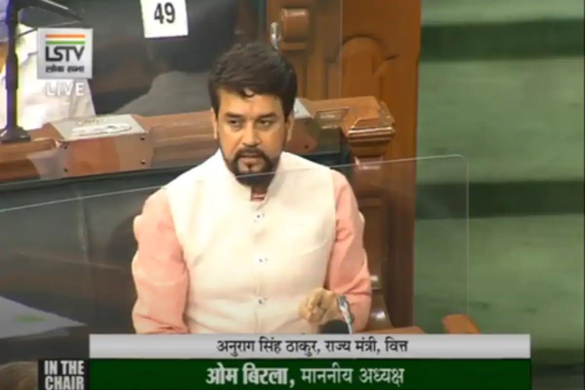 Anurag Thakur in Lok Sabha