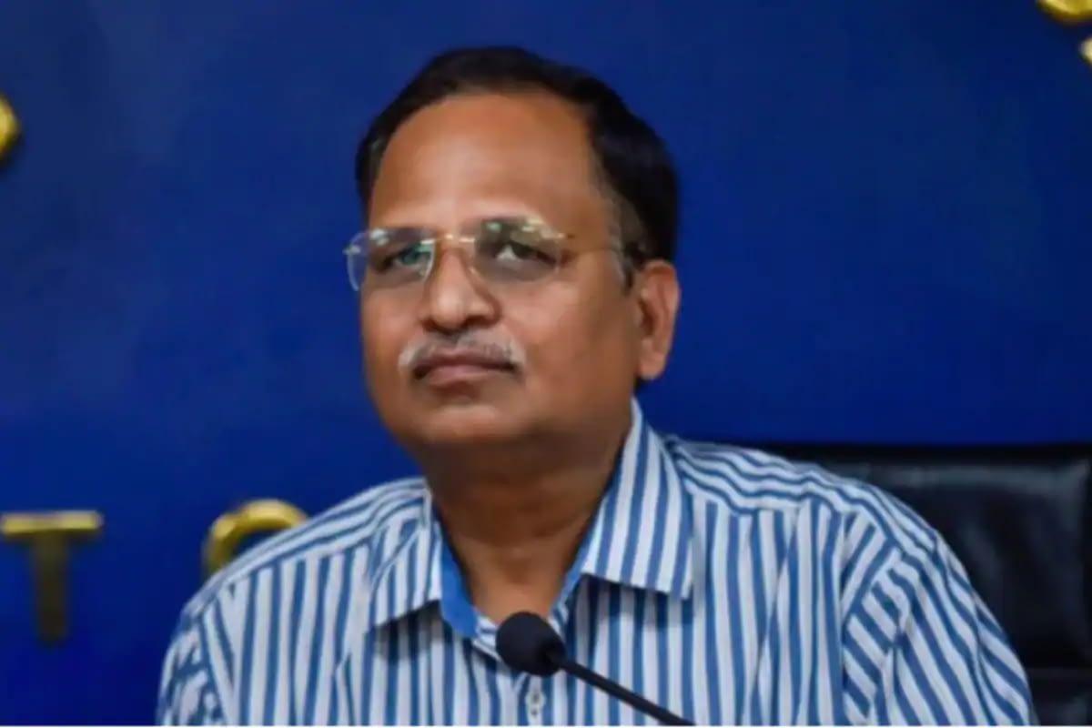 Delhi Health Minister Satyendar Jain (PTI File)