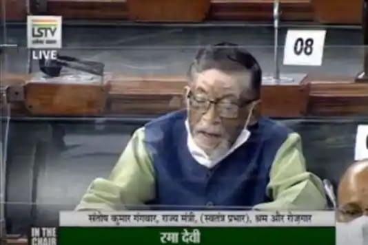 Labour Minister Santosh Gangwar