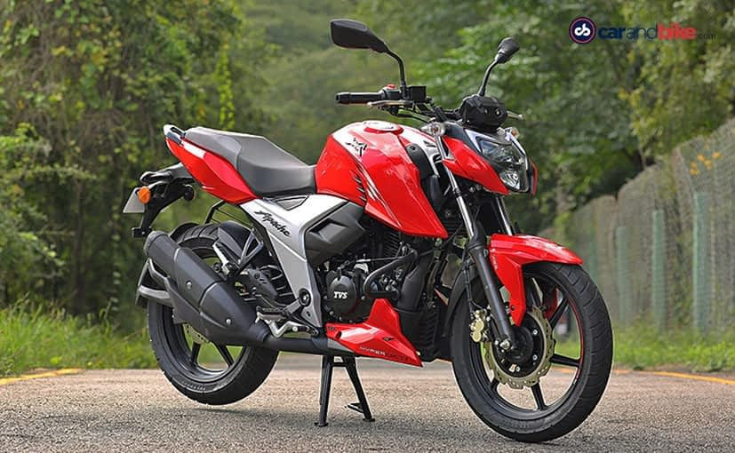 Prices for the BS6 TVS Apache RTR 160 4V now start at Rs. 1.03 lakh (ex-showroom)