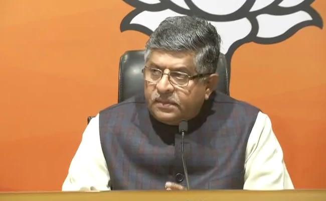 Union Minister Ravi Shankar Prasad Tests Negative For Coronavirus