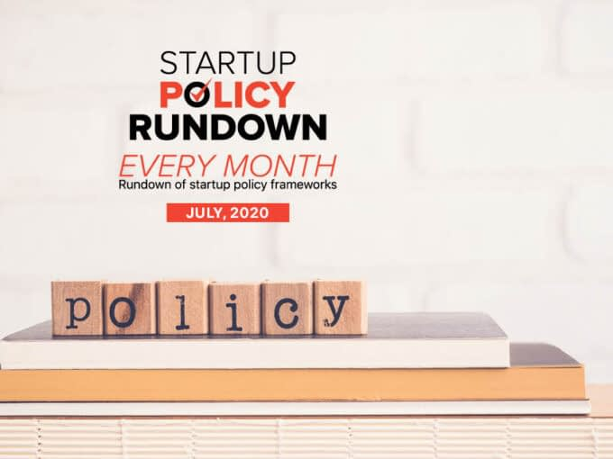 Startup Policy Rundown: National Education Policy 2020 Out; New Guidelines For Elearning & More