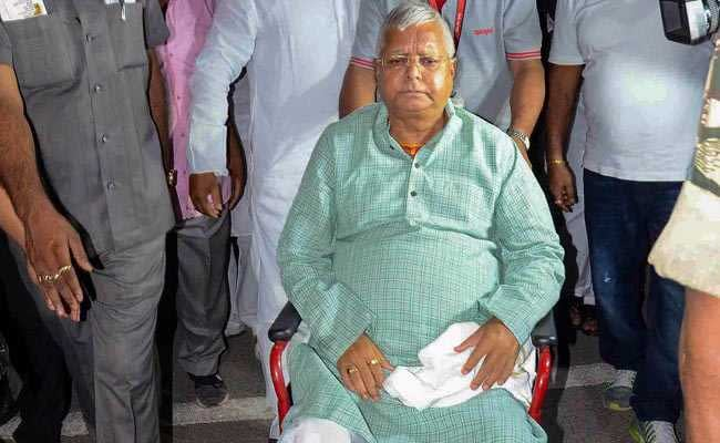 Jailed RJD Leader Lalu Prasad Yadav Tests Negative For Coronavirus